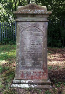 Tomb of Rev William Williams